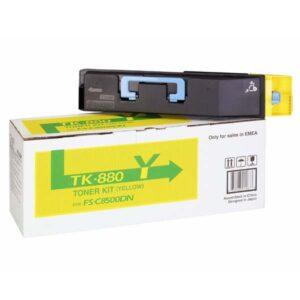 Toner TK-880Y Kyocera